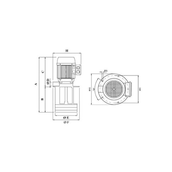 ELETTROPOMPA SACEMI MPC90/B