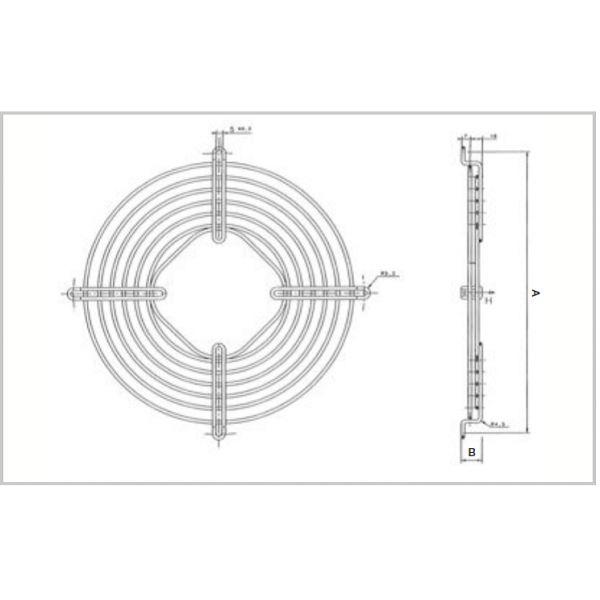 Rete diametro 344mm