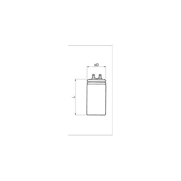 Condensatori Elettrici con faston 1 MF