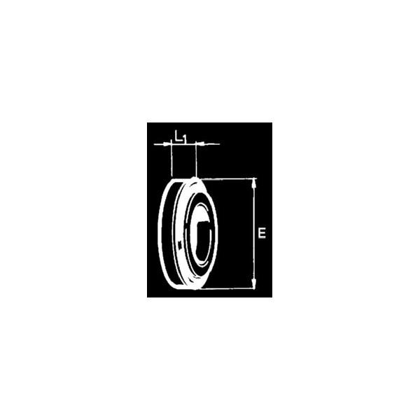 CONTROFACCIA ALLUMINA 18x38x8