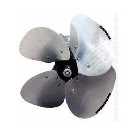 For wall-mounted heaters impellers