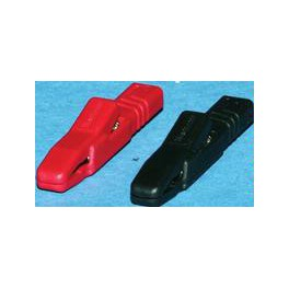 Alligator clip for battery charger cables