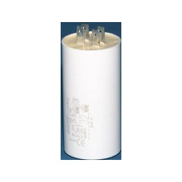 Electric Capacitors with Faston