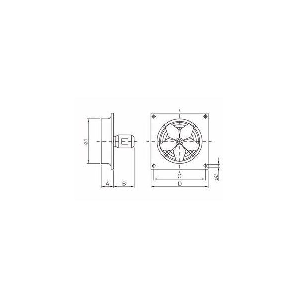 ELECTRIC FAN 30W 4P