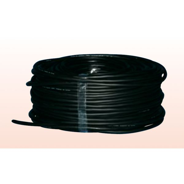 BLACK CABLE H07RNF 2X1