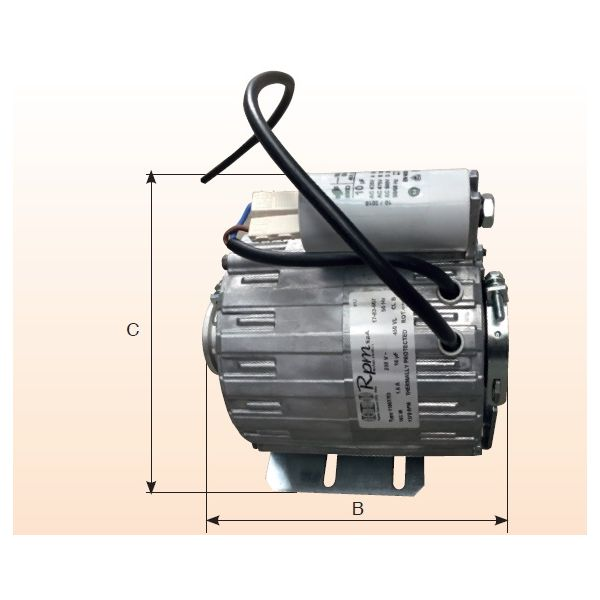 Motor for circulation pump